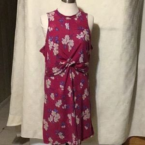 XHILARATION  Pink Cotton Dress Size XXL